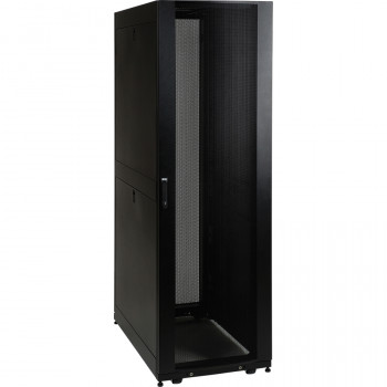 Tripp Lite SmartRack SR42UB 42U 482.60 mm Wide Rack Cabinet - Black