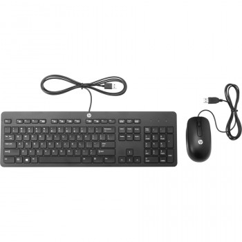 HP Slim Wired Keyboard & Mouse Set