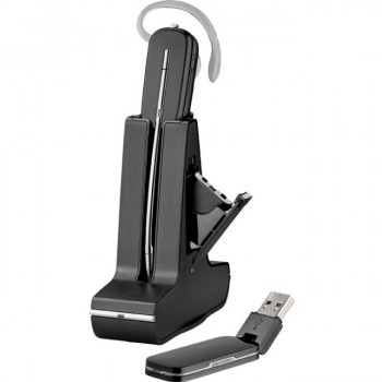 Plantronics Savi W445-M Wireless DECT Mono Earset - Over-the-ear, Over-the-head, Behind-the-neck - Outer-ear
