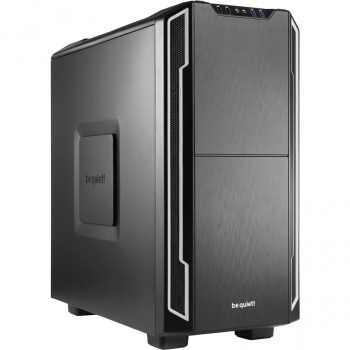 be quiet! Silent Base 600 Computer Case - ATX, Micro ATX, Mini ITX Motherboard Supported - Mid-tower - Steel, Acrylonitrile Butadiene Styrene (ABS), Rubber - Silver - 7.84 kg