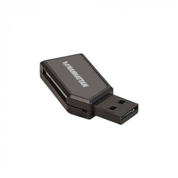 Manhattan 101677 24-in-1 Flash Reader - USB 2.0 - External