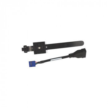 HP Internal USB Port Kit - USB cables (USB A, Female/Female, Black, 110 g, 4-pin USB F)