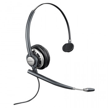Plantronics EncorePro HW710 Wired Mono Headset - Over-the-head - Supra-aural