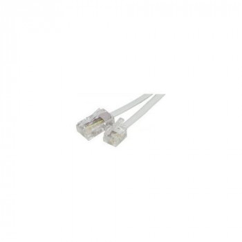 Telephone cord RJ11 to RJ45 White- 3 m