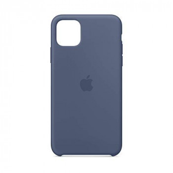 Apple Silicone Case (for iPhone 11 Pro Max) - Alaskan Blue