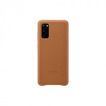 Samsung Original Galaxy S20 | S20 5G Leather Cover/Mobile Phone Case - Brown