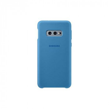 Samsung Galaxy S10e Soft Touch Silicon Cover - Official Galaxy S10e Case/Protective Phone Case with Soft Touch Silicone Finish - Blue