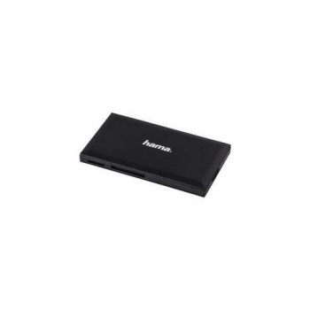 Hama 00181018 USB 3.0 Black card reader - card readers (MS Duo,MS PRO Duo,MS PRO Duo HS,MicroSD (TransFlash),MicroSDHC,MicroSDXC,SD,SDHC,SDXC, USB 3.0, Black, 903 mm, 90 mm, 503 mm)