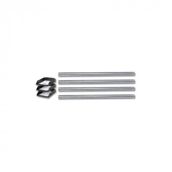 Avery DTR Risers Metal for All Avery Trays 118mm Steel Ref 404Z-118 [Pack of 4]