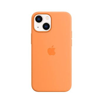 Apple Silicone Case with MagSafe (for iPhone 13 mini) - Marigold