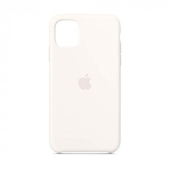 Apple Silicone Case (for iPhone 11) - White