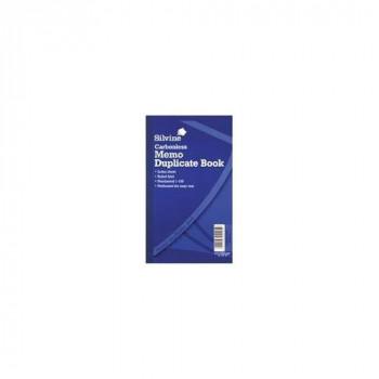 Silvine 701 - C/less Dup Memo Book Ruled 81/4x5in PK6