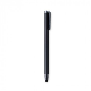 Wacom Bamboo Solo Smart Stylus (4th Generation) in Black ? Ergonomic Capacitive Touch Pen with Carbon Fiber Tip for Apple, Android & Windows Touchscreen Input Devices