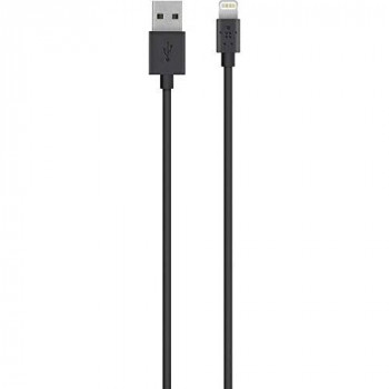 Belkin 90cm Lightning Charge/Sync Cable for iPhone/iPad - Black