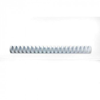 GBC CombBind Binding Combs, 25 mm, 225 Sheet Capacity, A4, 21 Ring, White, Pack of 50, 4028202