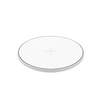 Juice Wireless QI Compatible Mobile Phone Charging Pad, iPhone, Samsung, Huawei, Sony, Microsoft, Google, 10W, White
