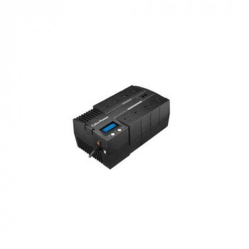 CyberPower BR1200ELCD-UK BRICs Series, 1200VA/720W, 6 UK Outlets (3 Surge only, 3 UPS and Surge), 1 USB Charging Port, AVR, Brick Format