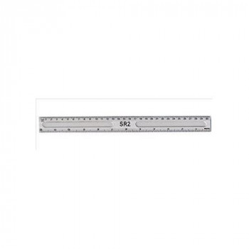 Hainenko 796500 Value 30cm Clear Ruler- Pack of 20