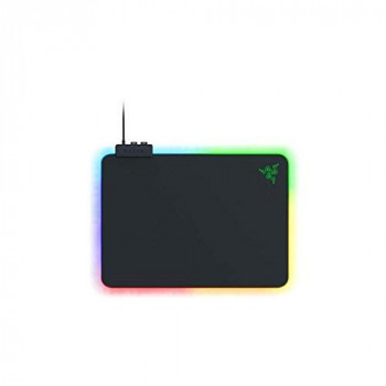 Razer Firefly V2 - Gaming Mouse Pad (Gaming Mouse Pad with Micro-Textured Surface, Cable Holder and RGB Lighting) Black