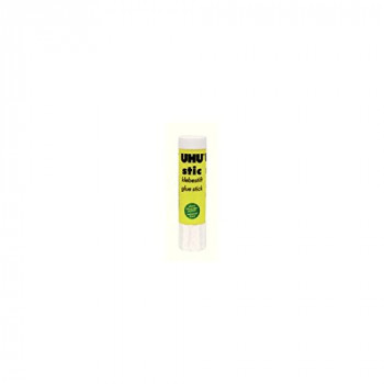 UHU Stic Glue Stick Solid Washable Non-toxic 21g Ref 45611 [Pack of 12]