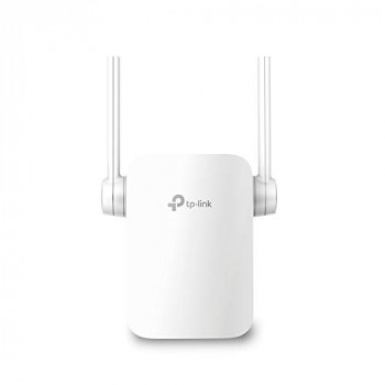 TP-Link RE205 AC750 Universal Dual Band Range Extender, Broadband/Wi-Fi Extender, WiFi Booster/Hotspot with Ethernet Port, 2 External Antennas, Plug and Play, Smart Signal Indicator, UK Plug