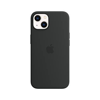 Apple Silicone Case with MagSafe (for iPhone 13) - Midnight