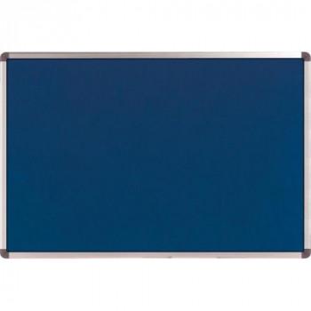 Nobo Elipse Noticeboard Felt with Aluminium Frame W900xH600mm Blue