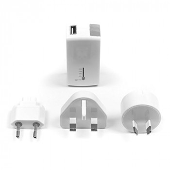 Targus 2-in-1 USB Wall Charger and Power Bank White