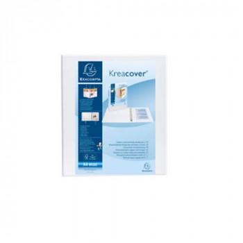 Exacompta 51826E 25 mm D-Ring Binder - White (Pack of 10)