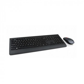 Lenovo Professional Combo - Keyboard and mouse set - wireless - 2.4 GHz - UK English - for ThinkCentre M71X, ThinkPad L470, P51, P71, ThinkStation P320, V310, V520-15, V520S-08