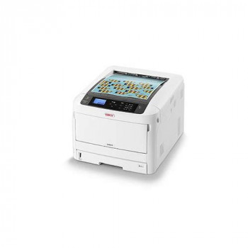 OKI C824dn - Printer - colour - Duplex - LED - A3-1200 x 600 dpi - up to 26 ppm (mono) / up to 26 ppm (colour) - capacity: 400 sheets - USB 2.0, Gigabit LAN, NFC, USB 2.0 host