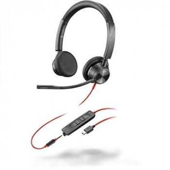 Poly Plantronics Blackwire C3325-M 214017-01 Headset USB-C Black