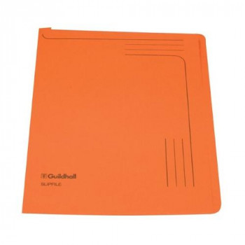Guildhall 14607 12.5inch x 9inch Slipfile - Orange