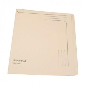 Guildhall 14609 12.5inch x 9inch Slipfile - Cream