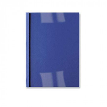 GBC LeatherGrain Thermal Binding Covers, 3 mm, 30 Sheet Capacity, A4, Royal Blue, Pack of 100, IB451010
