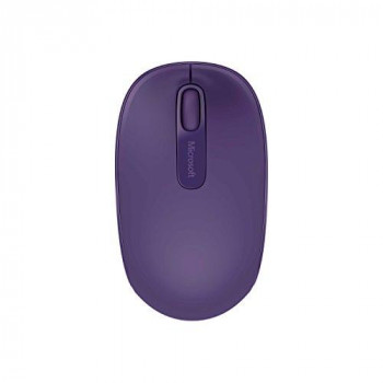 Microsoft 1850 Mouse - Wireless - Purple