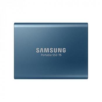 Samsung T5 500 GB USB 3.0 /USB-C External Solid State Drive - Black