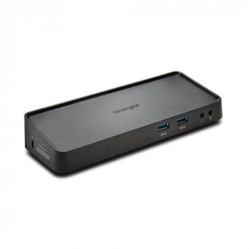 Kensington SD3600 USB 3.0 Dual-Video Dock for Windows/Vista/XP/Mac - Black