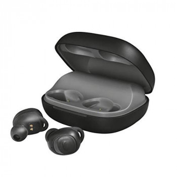 Trust Duet XP True Wireless Bluetooth Earbuds with Microphone, Headphones with Bluetooth 5.0 - Black