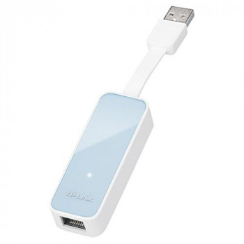 TP-LINK UE200 USB 2.0 to 100 Mbps Ethernet Network Adapter with Foldable and Portable Design for Ultrabook