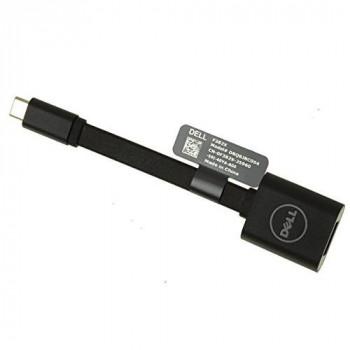Dell DBQBJBC054 USB-C - USB-A 3.0 Interface/Gender Adapter Cable - Black