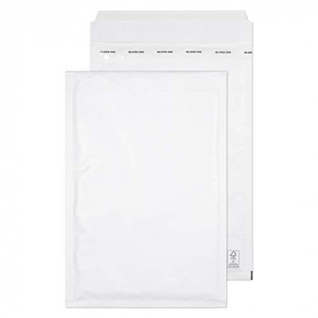 Blake Purely Packaging C4 340 x 220 mm Envolite Peel & Seal Padded Bubble Envelopes (F/3) White - Pack of 100