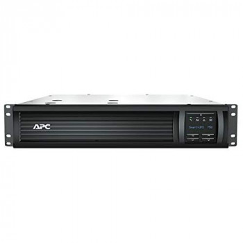 APC Smart-UPS SMT-SmartConnect - SMT750RMI2UC - Uninterruptible Power Supply 750VA (Rackmount 2U, Cloud enabled, 4 Outlets IEC-C13) Black