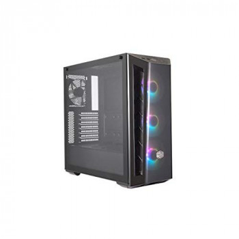 Cooler Master MasterBox MB520 ARGB - ATX PC Case with Tinted Front Panel, 3 x 120mm Pre-Installed Fans, Glass Side Panel, Flexible Air Flow Configurations - ARGB,MCB-B520-KGNN-RGA