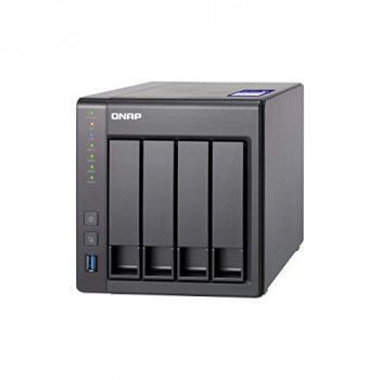 QNAP TS-431X2-2G, 4bay, 2GB RAM, 10GbE ready NAS (Network-attached Storage), Private Cloud, Backup, Data Centre