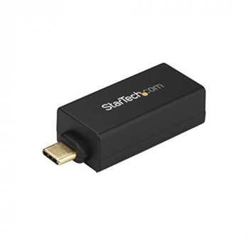 StarTech.com USB C to Gigabit Ethernet Adapter, USB 3.0, USB-C to Ethernet Adapter, USB C Network Adapter