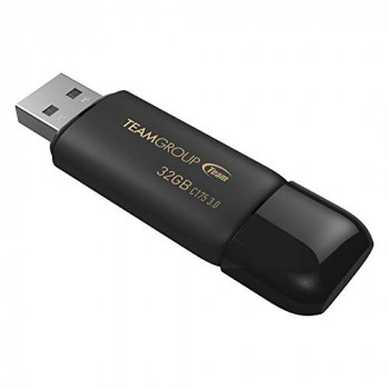 Team C175 32GB USB 3.1 Black USB Flash Drive