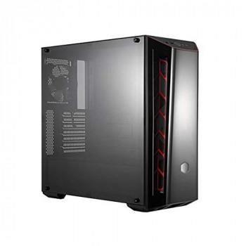 Cooler Master MasterBox MB520 Midi-Tower Black, Red computer case - Computer Cases (Midi-Tower, PC, Plastic, Steel, ATX,Micro-ATX,Mini-ITX, Black, Red, Gaming)