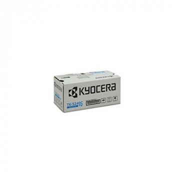 Kyocera TK-5240C Original Toner Cartridge Cyan 1T02R7CNL0. For ECOSYS M5526cdn, ECOSYS M5526cdw, ECOSYS P5026cdn, ECOSYS P5026cdw. Amazon Dash Replenishment-Compatible