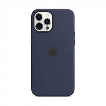 Apple Silicone Case with MagSafe (for iPhone 12 Pro Max) - Deep Navy